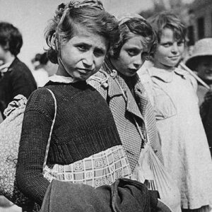 Polish Jewish child refugees in Iran. January, 1942.